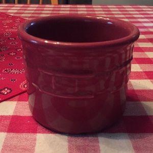 Longaberger pottery- paprika